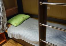 ХОСТЕЛЫ РУС - СОВЕТСКИЙ | Липецк | Wi-Fi | С завтраком Кровать в общем четырехместном номере для мужчин
