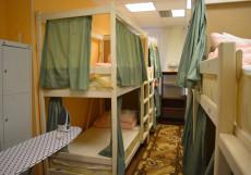 Пара Тапок | м. Маяковская | Wi-Fi | Парковка Спальное место на двухъярусной кровати в общем номере для мужчин