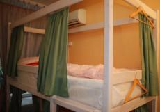 Пара Тапок | м. Маяковская | Wi-Fi | Парковка Спальное место на двухъярусной кровати в общем номере для женщин