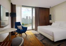 Минск Марриотт - Minsk Marriott Hotel Классический (кровать размера