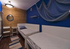 Атмосфера Мини-отель | м. Киевская | Wi-Fi Двухместный (2 односпальные кровати)
