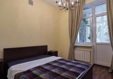 Атмосфера Мини-отель | м. Киевская | Wi-Fi Двухместный (1 кровать, балкон)