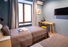 Локал LOCAL ОТЕЛЬ Двухместный комфорт с двумя отдельными кроватями