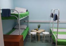 Хостел 365 | Москва | Чонгарский бульвар Спальное место на двухъярусной кровати в общем номере для мужчин или женщин