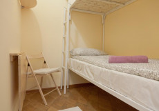 Ретро на Курской Бюджетный двухместный с двумя отдельными кроватями и общей ванной комнатой