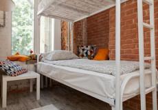 Ретро на Курской Двухместный с двумя отдельными кроватями и общей ванной комнатой