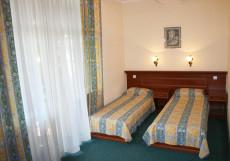 РУБИКОН | Гаспра | Ялта | Крым Стандартный двухместный с двумя отдельными кроватями и балконом