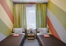 ЛАДОМИР | м. Сокольники | парковка Двухместный номер с 1 кроватью или 2 отдельными кроватями и общей ванной комнатой