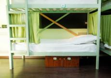 ХотелХот Белорусский вокзал Койко-место в общей женской спальне с 12 кроватями