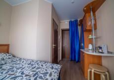 Теремок Московский | Тверь | Парковка Стандарт двухместный (1 двуспальная или 2 односпальные кровати)