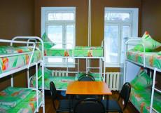 Красносельская Хостел ХотелХот | Ленинградский вокзал | парковка (платно) Спальное место на двухъярусной кровати в общем номере для мужчин