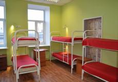 Гостиный дом на Невском Кровать в общем 10-местном номере