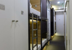 CAPSULA - КАПСУЛА Капсульный отель | м. Таганская, Марксистская | Парковка Кровать
