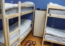 Submarina  | м. Тургеневская | м. Чистые Пруды | Общая кухня Кровать в общем 8-местном номере для мужчин