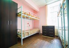 Старт Хостел | м. Текстильщики | Общая кухня | Парковка Кровать в общем 8-местном номере