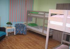ПРОСПЕКТ | Новосибирск | Wi-Fi | Общая кухня Кровать в общем 6-местном номере
