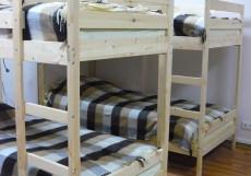 ПРОСПЕКТ | Новосибирск | Wi-Fi | Общая кухня Кровать в 8-местном номере для мужчин