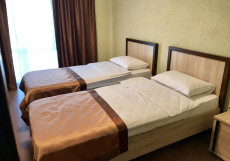 МАНДАРИН | Пицунда | 200 м от пляжа Большой двухместный с двумя отдельными кроватями
