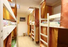 ДоброХостел | Москва | м. Пролетарская | Wi-Fi Кровать в общем 8-местном номере для мужчин и женщин