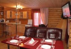 Домик в Лесу База отдыха | Свияжск Вилла на 6 человек (2 спальни)
