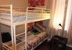Fresh Hostel на Арбате | Москва | м. Арбатская | парковка Кровать в общем 8-местном номере для мужчин