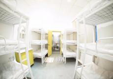 Bed&beer Спальное место в общем номере для мужчин и женщин с 27 кроватями