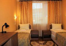 Царицынский комплекс | м. Царицыно | Парковка Двухместный номер с 2 отдельными кроватями и общей ванной комнатой