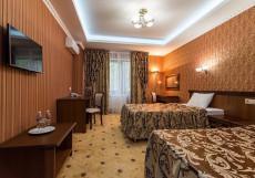 Резиденс Парк-отель Стандартный номер с двумя кроватями размера «queen-size»