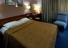ДИЗАЙН ОТЕЛЬ Д' HOTEL (м. ВДНХ. возле ВВЦ) Комфорт с 1 большой или 2 раздельными кроваятми