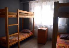 AntHill | Москва | м. Сходнеская | парковка Кровать в общем 8-местном номере для мужчин и женщин