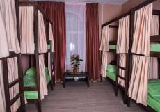 Рус Электрозаводская | Москва | м. Электрозаводская  | Парковка Спальное место на двухъярусной кровати в общем номере для мужчин и женщин