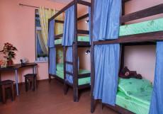 Рус Электрозаводская | Москва | м. Электрозаводская  | Парковка Кровать в общем 8-местном номере для мужчин и женщин