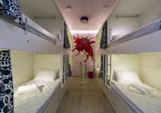 HQ Hostelberry | Москва | м. Новослободская | Wi-Fi Кровать в общем 8-местном номере для женщин