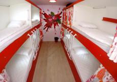 HQ Hostelberry | Москва | м. Новослободская | Wi-Fi Кровать в общем 8-местном номере для мужчин и женщин