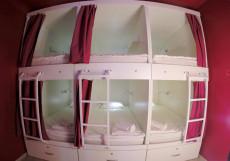 HQ Hostelberry | Москва | м. Новослободская | Wi-Fi Кровать в общем 10-местном номере для мужчин и женщин