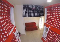 HQ Hostelberry | Москва | м. Новослободская | Wi-Fi Двуспальная кровать в общем пятиместном номере для мужчин/женщин
