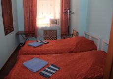 Арбат | Москва | м. Смоленская | Wi-Fi Двухместный номер с 2 отдельными кроватями и общей ванной комнатой