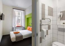 Станция S13 | Сеть отелей Станция | Санкт-Петербург | м. Садовая | Парковка Стандартный двухместный номер с 1 кроватью или 2 отдельными кроватями
