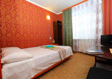 Аврора | Томск | Парковка Бюджетный двухместный номер с 1 кроватью