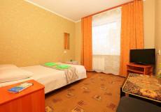 Аврора | Томск | Парковка Стандартный двухместный номер с 1 кроватью и видом на город