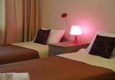 Омар Хайям (м. Чеховская) Двухместный номер с 1 кроватью или 2 отдельными кроватями и собственной ванной комнатой