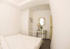 GOROD'Patriarshie | Москва | м. Баррикадная | Wi-Fi Двухместный номер с 1 кроватью и общей ванной комнатой