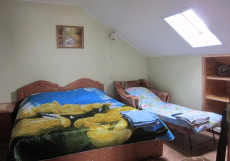 Волна | Суздаль | Парковка Двухместный номер с 1 кроватью или 2 отдельными кроватями и общей ванной комнатой