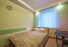 ПАНОФФ | Эконом-отель | Москва | м. Текстильщики | Парковка Двухместный номер Делюкс с 1 кроватью и душем
