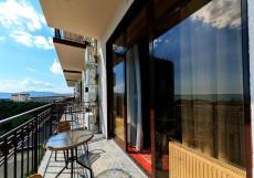Калифорния | Геленджик | Песчаный пляж | Парковка Стандартный двухместный номер с 1 кроватью и балконом, вид на море