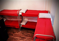 Хостел на Курской | м. Курская | Парковка Спальное место на двухъярусной кровати в общем номере для мужчин