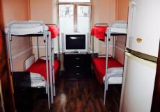 Хостел на Курской | м. Курская | Парковка Спальное место на двухъярусной кровати в общем номере для мужчин и женщин
