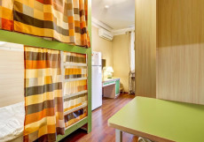 Авита Авиамоторная | м. Авиамоторная | Wi-Fi Кровать в четырехместном женском номере для женщин