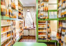 Авита Авиамоторная | м. Авиамоторная | Wi-Fi Кровать в  8-местном мужском номере для мужчин