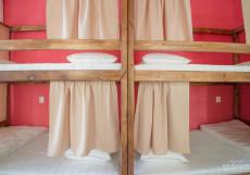 Рус-Усадьба   м. Марксистская, м. Таганская   Парковка Односпальная кровать в общем номере с 4 кроватями